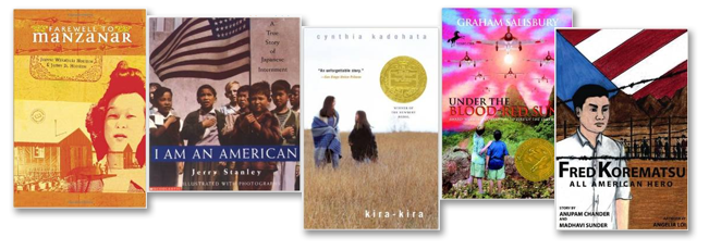Books About Internment Experience - Middle School Age