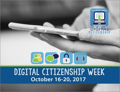 Digital Citizenship Week - October 16-20