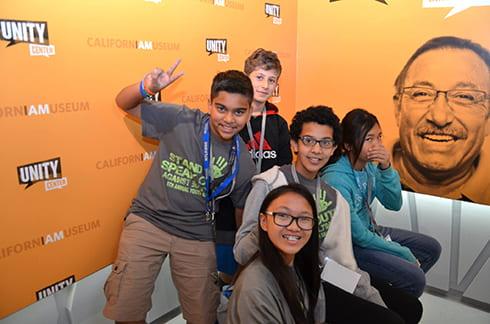 CA Museum Unity Center - Herburger Elementary School students