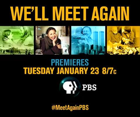 We'll Meet Again TV Show Promo Graphic
