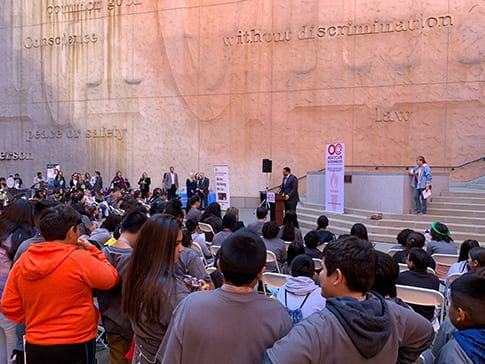Stand Up Speak Out! Against Bullying Youth Rally