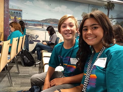 Harriet Eddy Students attend SF Google Headquarters