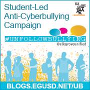 #UnfollowBullying Badge - Website URL