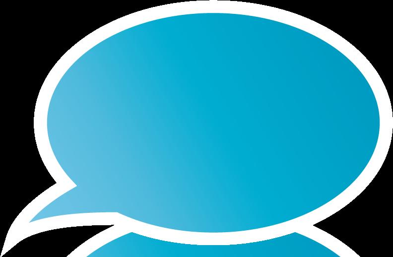 Blue Bubble Png