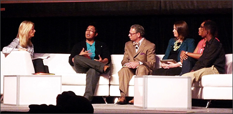 Superintendent Ladd serves as panelist at the Comcast Youth Tech Summit & Expo at the Sacramento Convention Center
