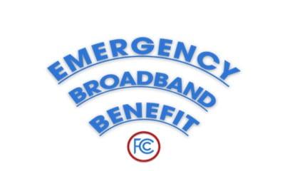 Logo for FCC emergency broadband benefit program