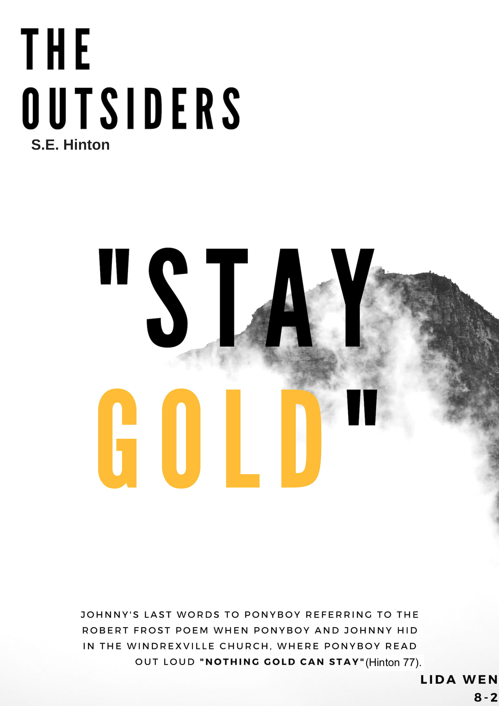 the outsiders robert frost poem meaning