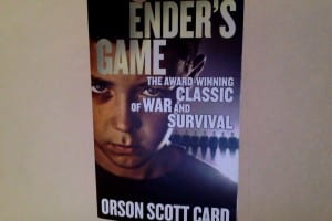 The book cover of Ender's Game