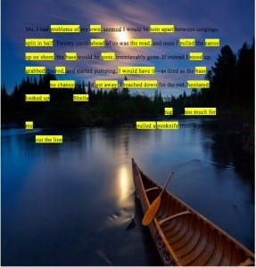 the bass the river and sheila mant essay heather s blog the bass the river and sheila mant