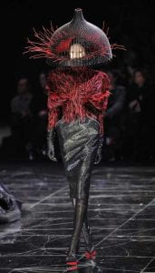 Alexander McQueen (I love his concepts and his creative use of form and color! I love how ambitious his designs are. He's a genius!)