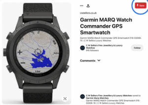 GPS watch inspiration
