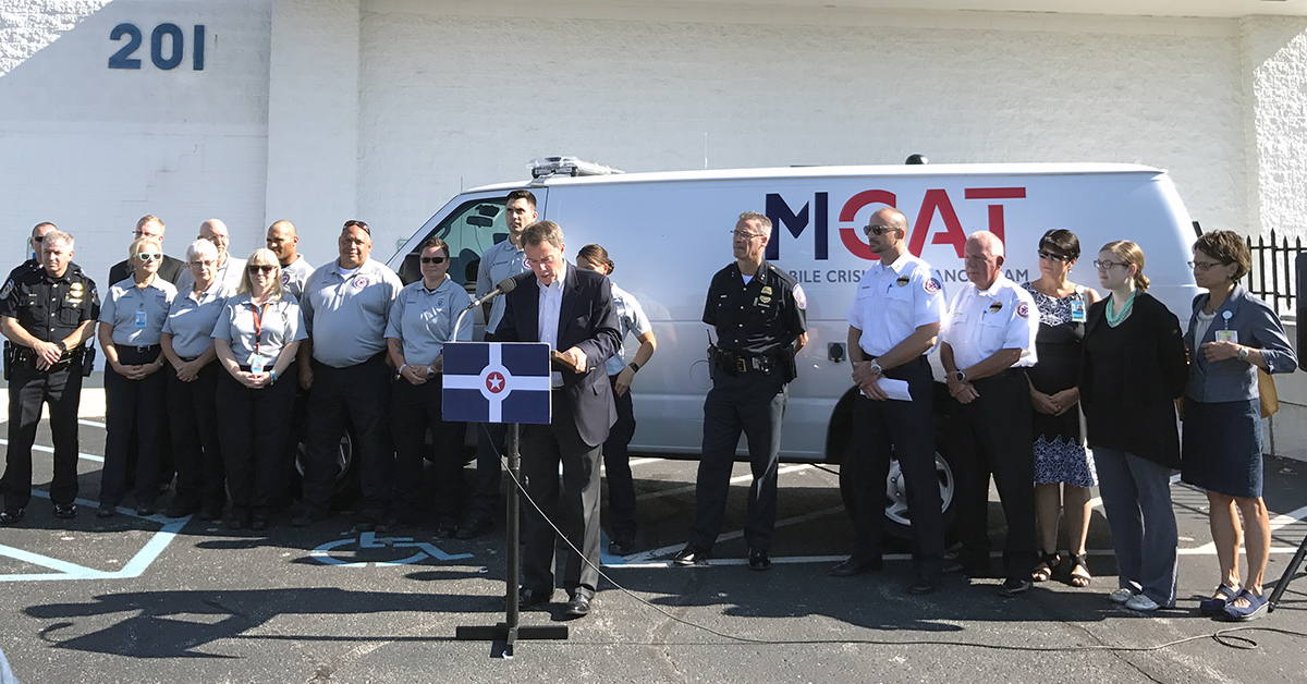 M-CAT; mobile crisis assistance team; public policy institute; research; mental illness