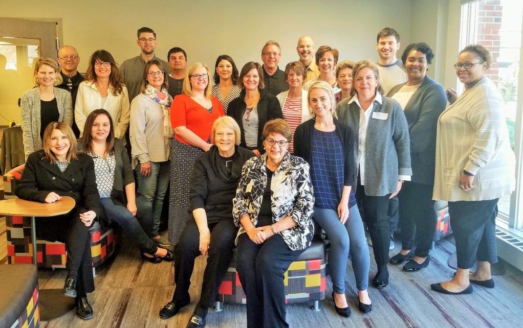 Group of participants for the 2018 La Porte Nonprofit Leadership Academy