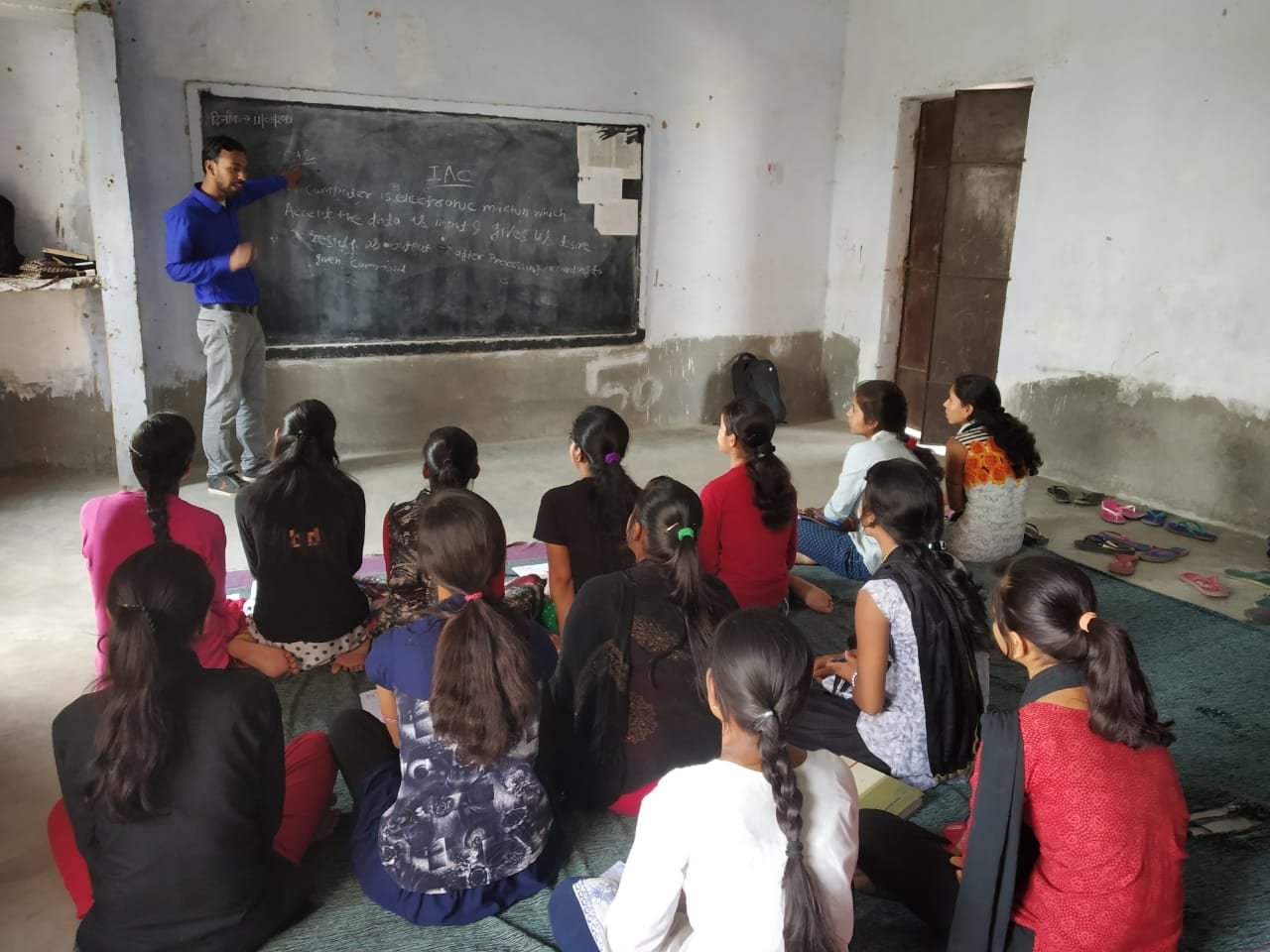 Helping improve education and opportunities for women in