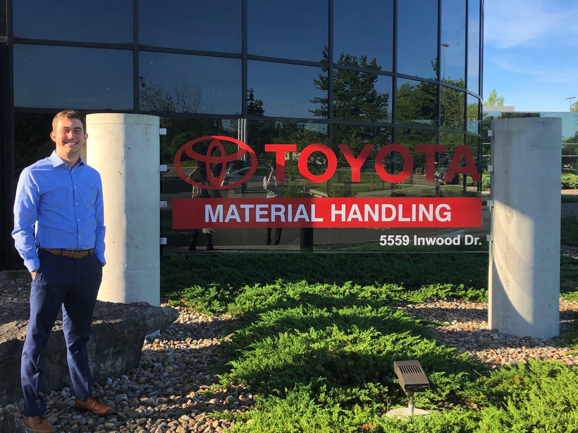 Toyota Columbus Indiana >> Toyota Material Handling Kelley School Of Business