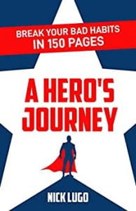 "Book cover, ""A Hero's Journey"""