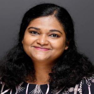 Head shot of Dr. Rajalekshmy Shyam