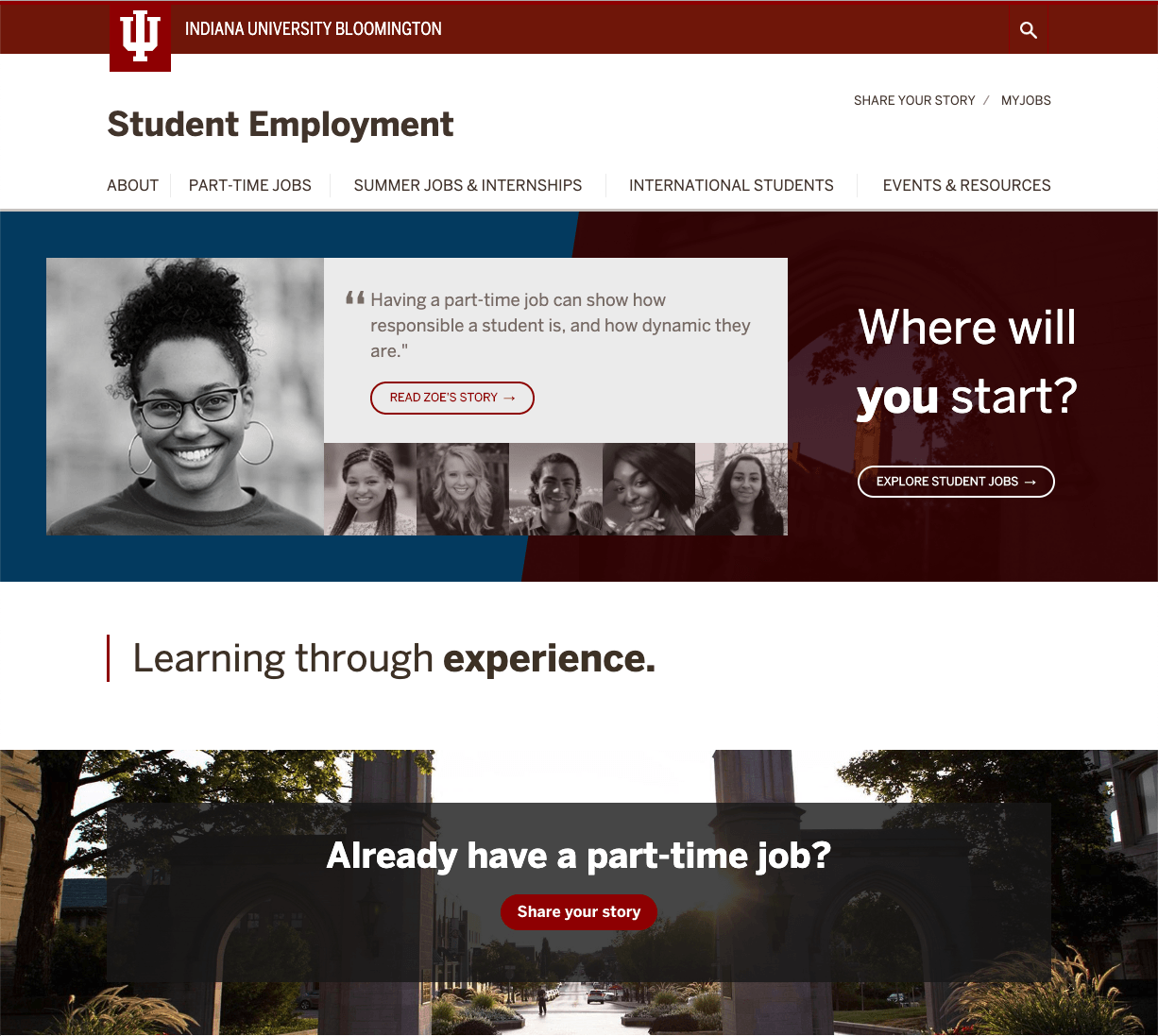 CDC Student Employment Website – OVPUE Information Technology