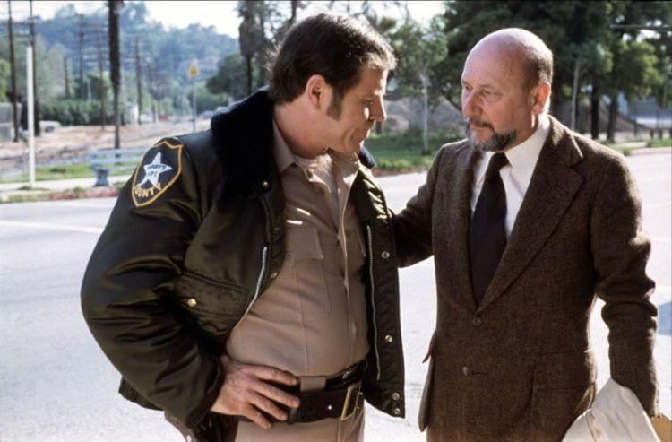 Sheriff Brackett and Dr. Loomis