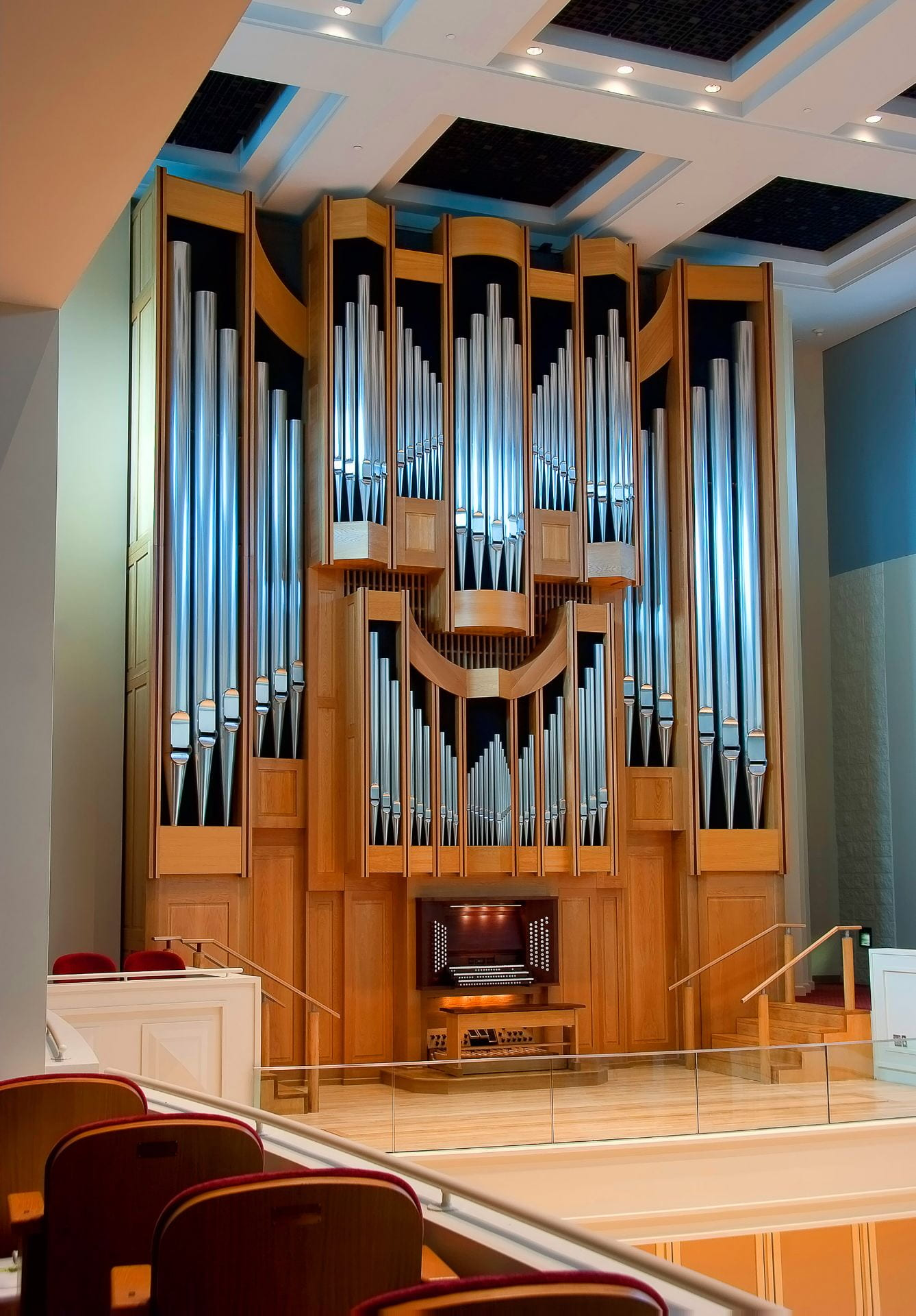 Organ in Auer Hall