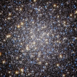 The M13 cluster, containing thousands of densely packed stars