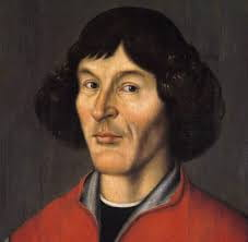 A painting depicting Copernicus.