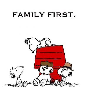 family first snoopy