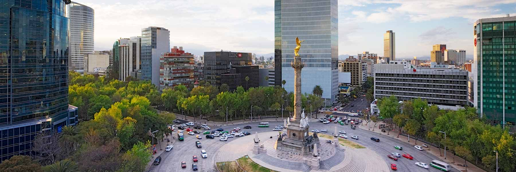 Monumento a la Independencia in Mexico City, Mexico