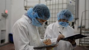 Students conduct research at Mays Chemical