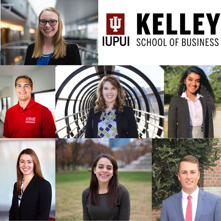 Seven Kelley students named to IUPUI Top 100