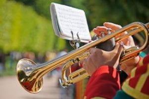 trumpet and flip folder