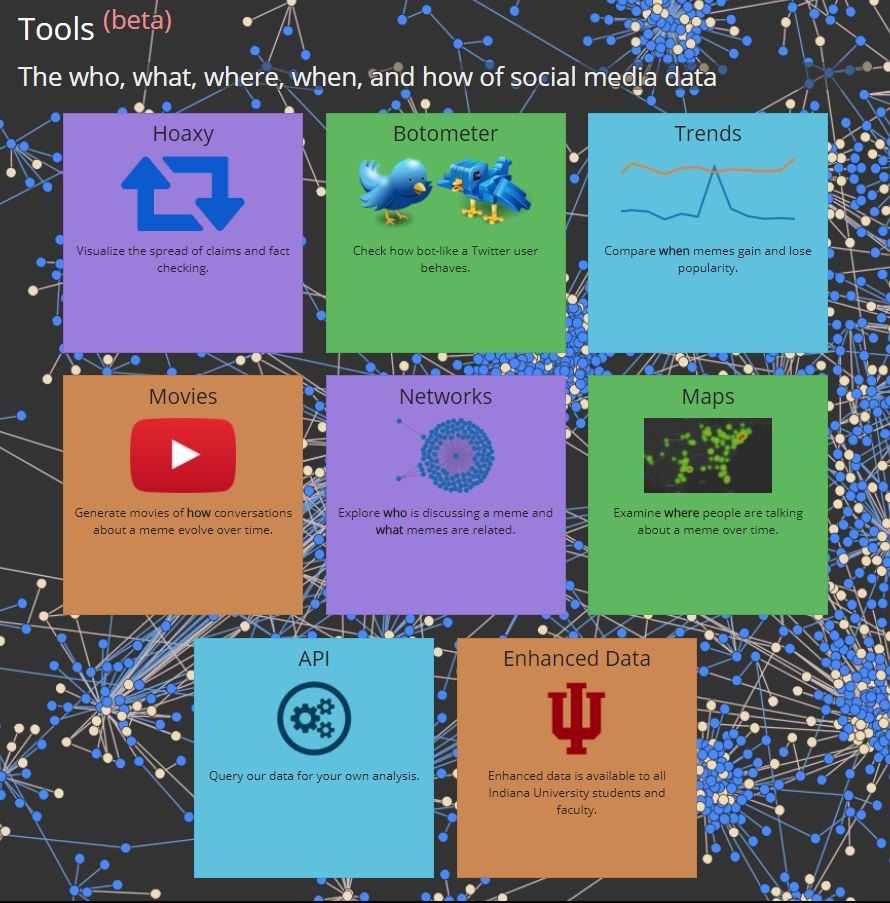 New and Enhanced Social Media Analytics Resources at IU