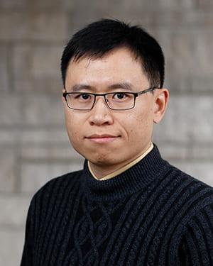 Xiaoran Yan's headshot.