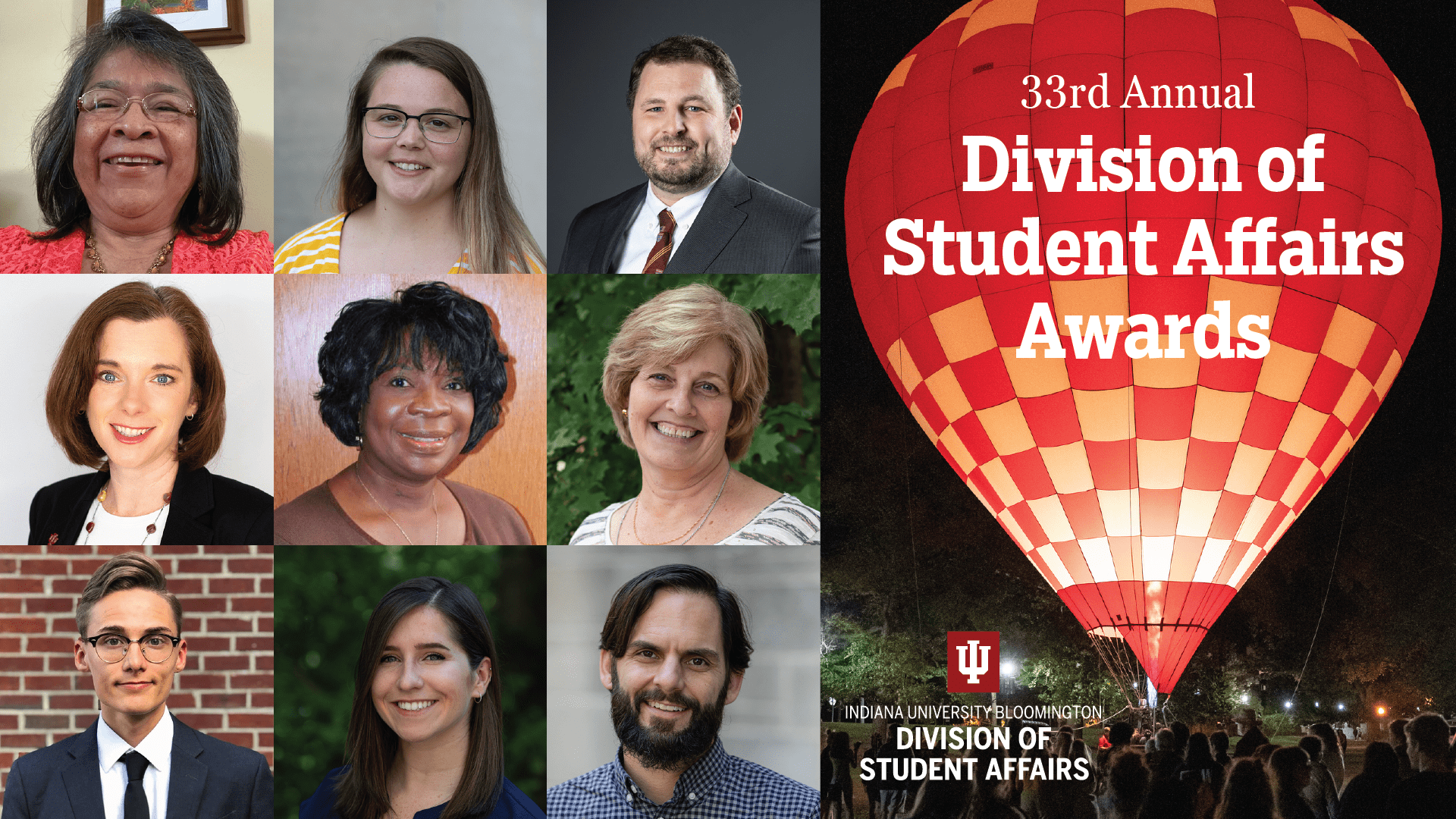 33rd Annual Division of Student Affairs Awards