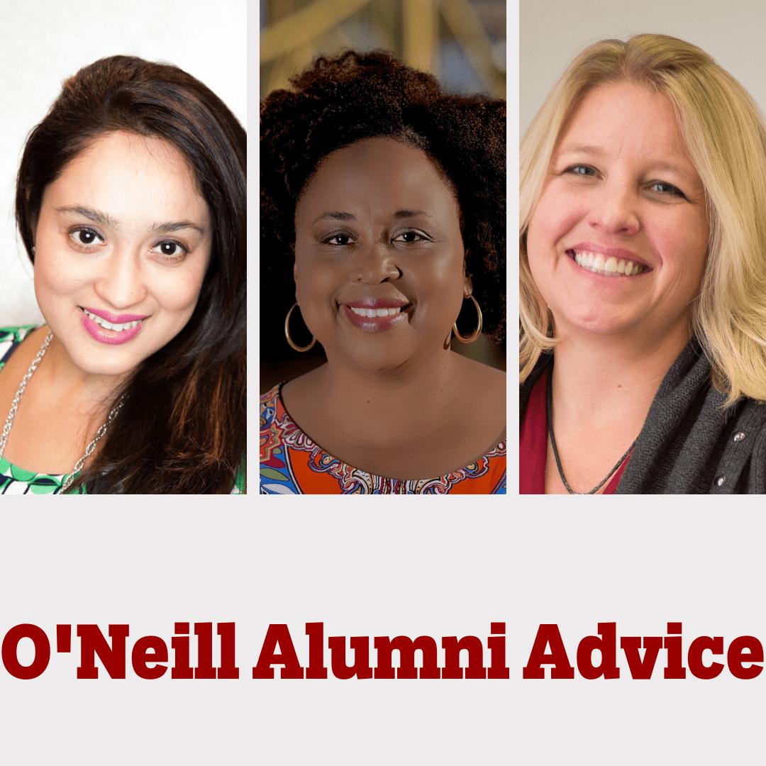 Image of three O'Neill alumni