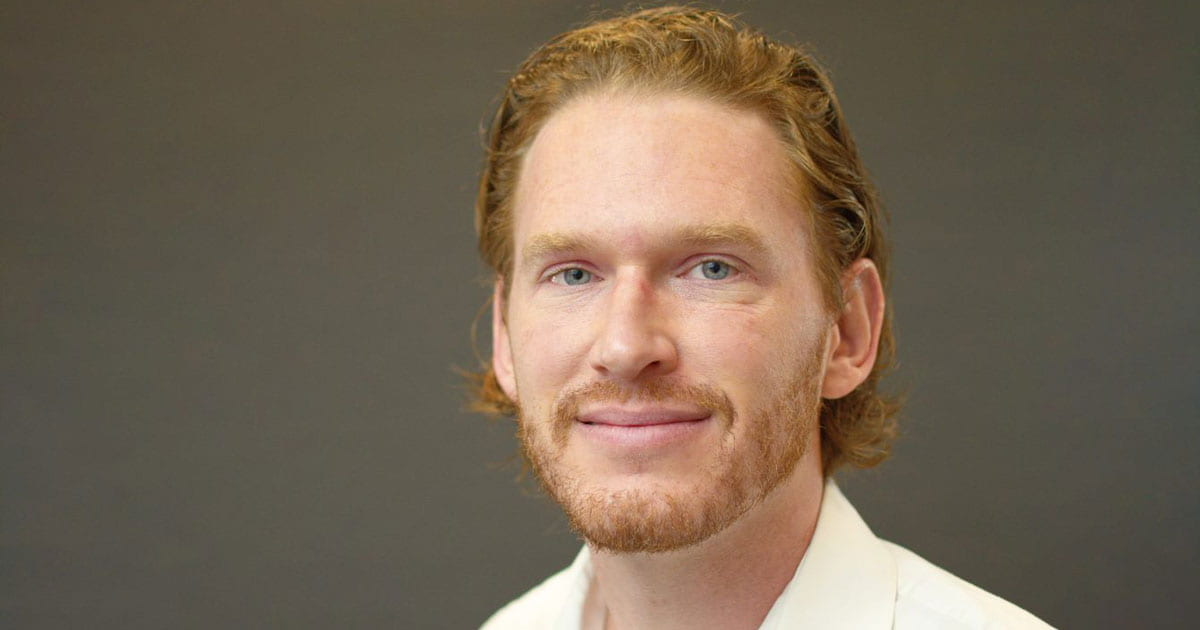 Headshot of Aaron McBride