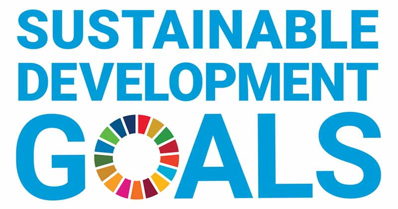 Graphic that says Sustainable Development Goals
