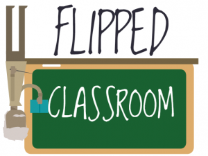 flipped classroom cartoon