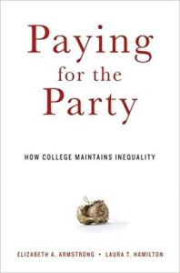 Book cover: Paying for the Party