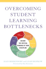 Book cover: Overcoming Student Learning Bottlenecks