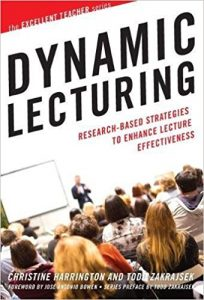Book cover: Dynamic Lecturing