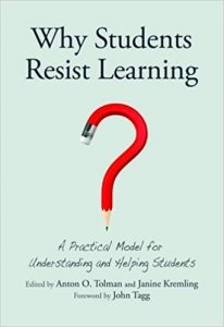 Cover of book: Why Students Resist Learning