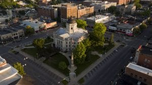 Image of Bloomington downtown square