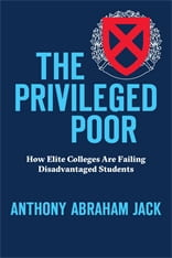 cover of The Privileged Poor
