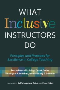 Book cover for What Inclusive Instructors Do