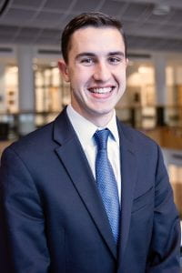 Photograph of Danny Amato, 3/2 MBA Class of 2021
