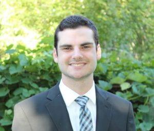 Photograph of James Georgiou, 3/2 MBA Class of 2022