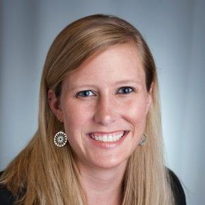 Photograph of Professor Katie Metz, Senior Lecturer