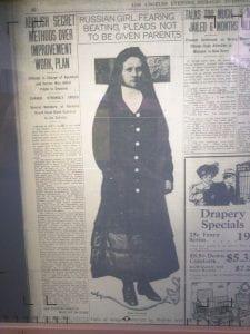 Newspaper photo of Elsie Novikoff