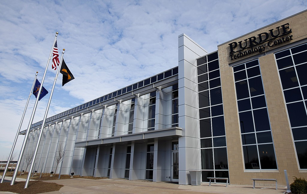The Purdue Research Park at AmeriPlex-Indianapolis technology center, is located at 5225 Exploration Drive, near the Indianapolis International Airport. (Purdue News Service photo/Andrew Hancock)